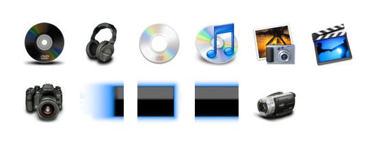佳能数码相机图标专辑包括47 个高清PNG图标, ICO图标和ICNS图标:的PowerShot s3is , 的PowerShot s3is, ixus i变焦布朗, 的PowerShot之家, a430的PowerShot胭脂, ixus i变焦黑色, ixus 30, a540的PowerShot, ixus无线, ixus 60, ixus 55 等图标.